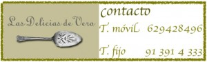 Las Delicias de Vero, catering y eventos , contacto