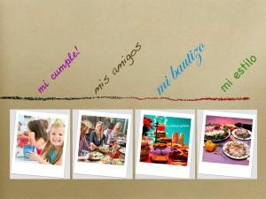 Celebraciones, eventos particulares, fiestas, bautizos, comuniones, cenas